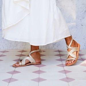 Beek // Cuckoo Ankle Tie Sandal